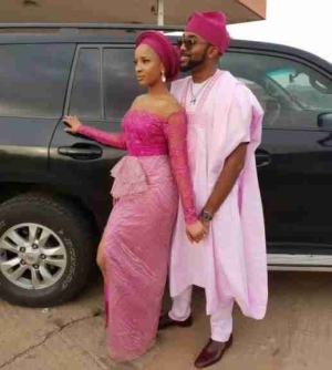 """He Still Buys Me Flowers For No Reason"" - Adesua Etomi Praises Banky W"